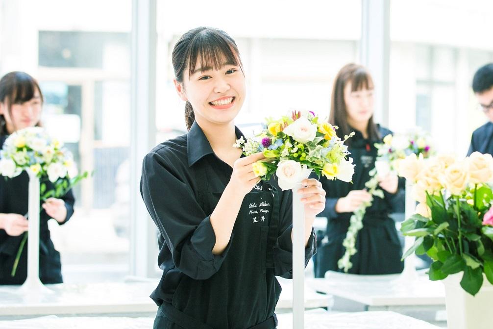 【フラワーデザインコース】千葉県唯一 自然の中で花をトータルに学び真のフローリストになる!